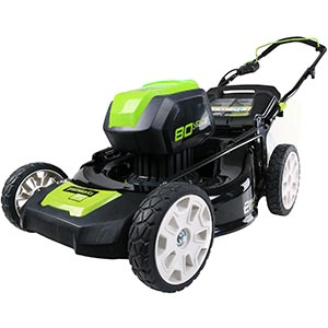 GreenWorks Pro GLM801601 review